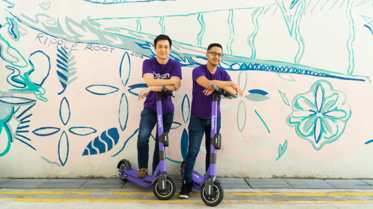 Micro-Mobility startup Beam