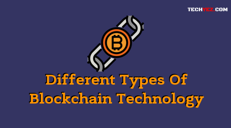 Different Types Of Blockchain Technology